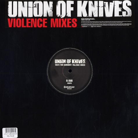 Union Of Knives - Taste for harmony: Violence mixes