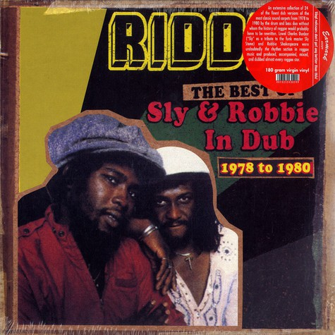 Sly & Robbie - Riddim - the best of Sly & Robbie in dub 1978 to 1980