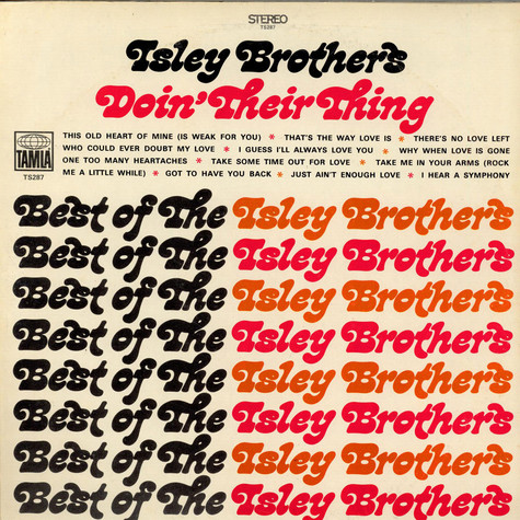 The Isley Brothers - Doin' Their Thing