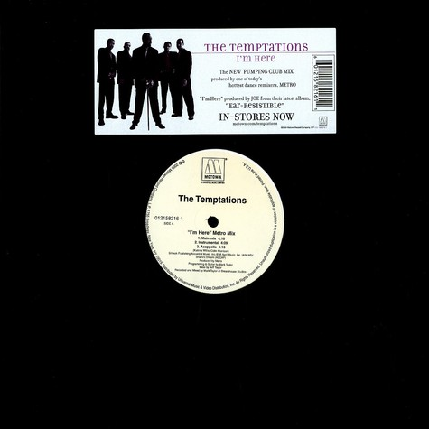Temptations, The - I'm Here