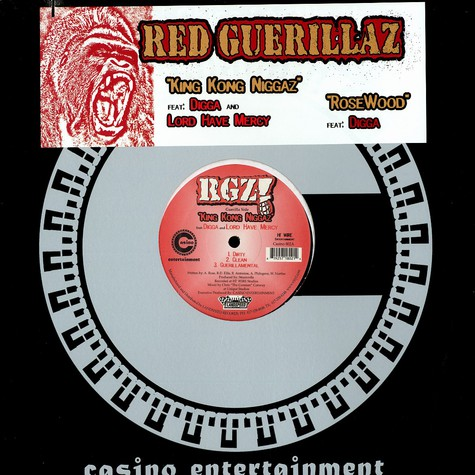 Red Guerillaz - King Kong niggaz feat. Digga & Lord Have Mercy