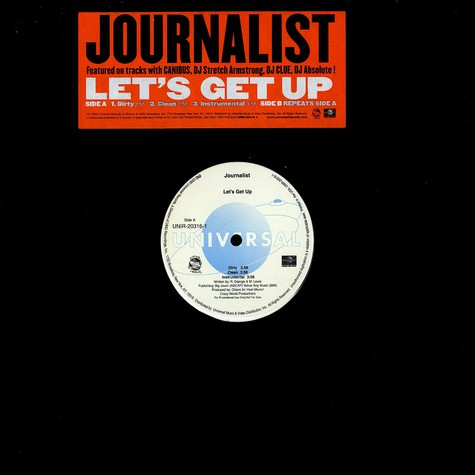 Journalist - Let's get up
