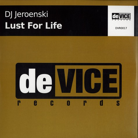 DJ Jeroenski - Lust for life