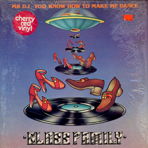 Glass Family, The - Mr DJ • You Know How To Make Me Dance