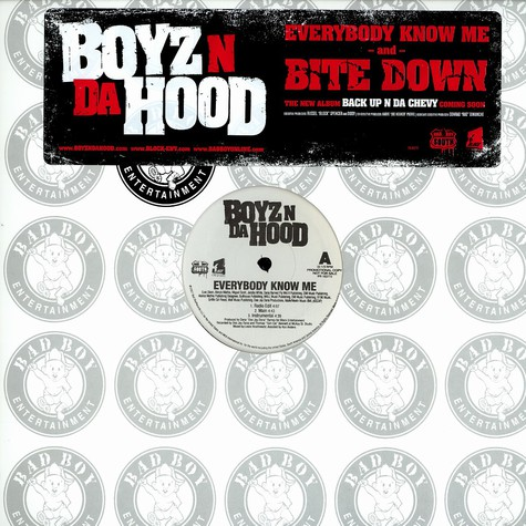 Boyz N Da Hood - Everybody know me