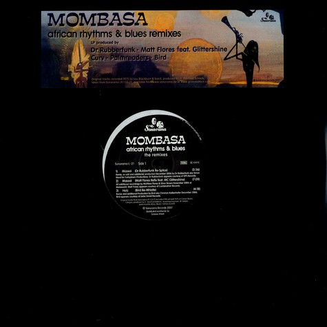Mombasa - African rhytms & blues - the remixes