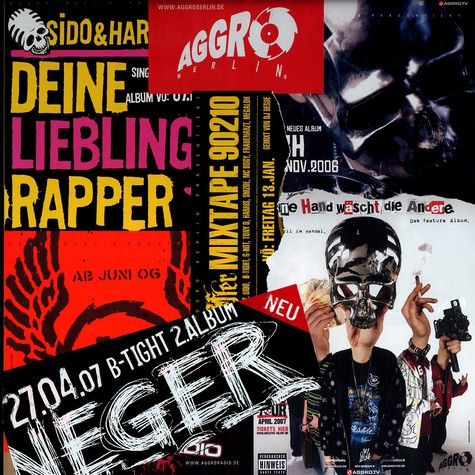 Aggro Berlin - Sticker Package