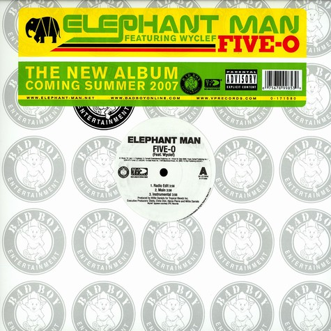 Elephant Man - Five-o feat. Wyclef