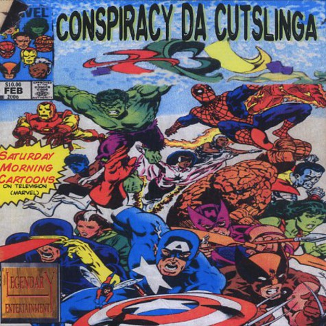 Conspiracy Da Cutslinga - Saturday morning cartoons