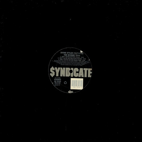 Divine Styler - Ain't Sayin Nothing