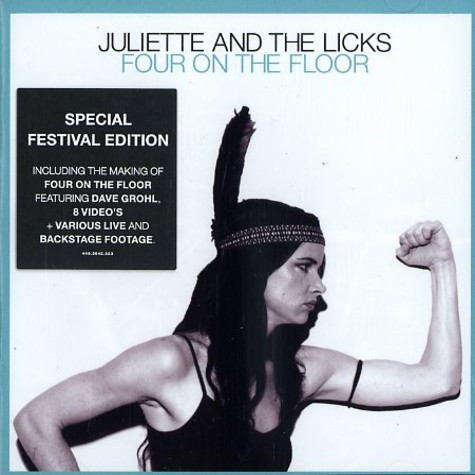 Juliette Lewis & The Licks - Four on the floor special festival edition