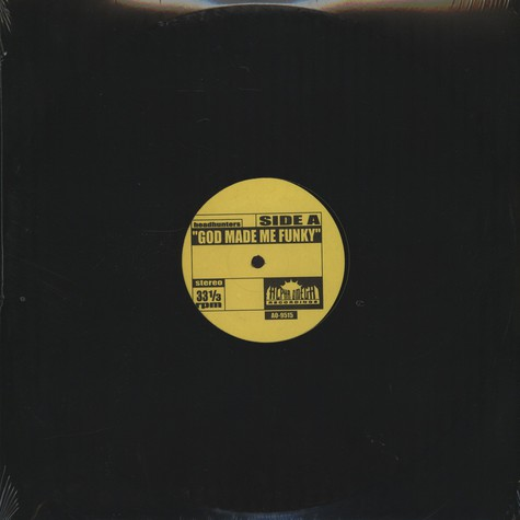 Headhunters / Yellow Sunshine - God made me funky / yellow sunshine