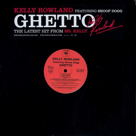 Kelly Rowland - Ghetto feat. Snoop Dogg