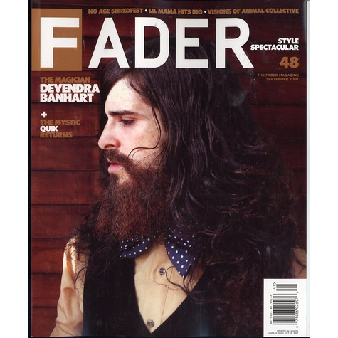 Fader Mag - 2007 - September - Issue 48