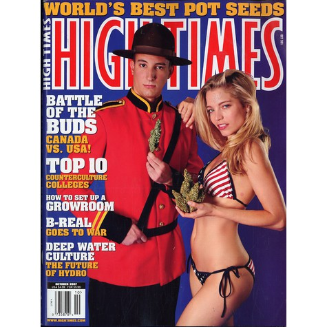 High Times Magazine - 2007 - 10 - October