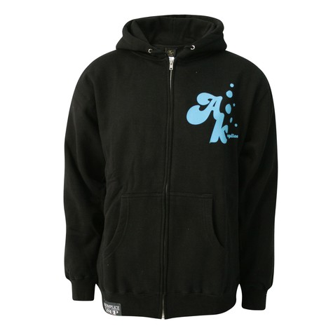 Akomplice - Freedom foil zip-up hoodie