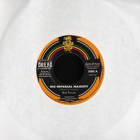 Rod Taylor / Mikey Dread & King Tubby - His imperial majesty / dread all the way