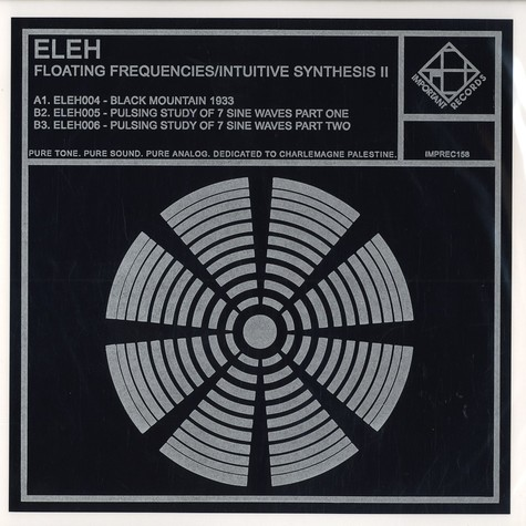 Eleh - Floating frequencies / intuitive synthesis II