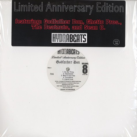 Hydra Beats - Volume 8 - limited aniversary edition