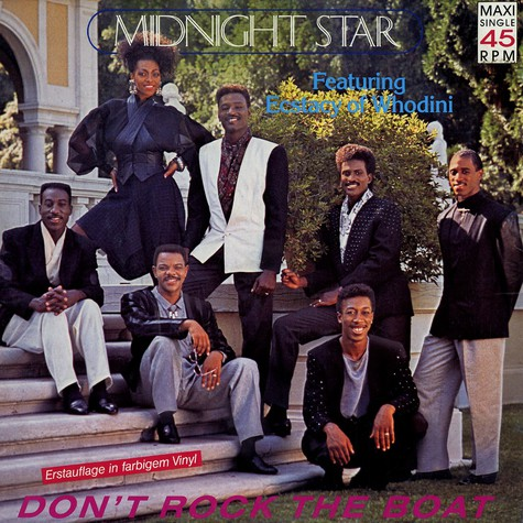 Midnight Star - Don't rock the boat feat. Ecstacy of Whodini