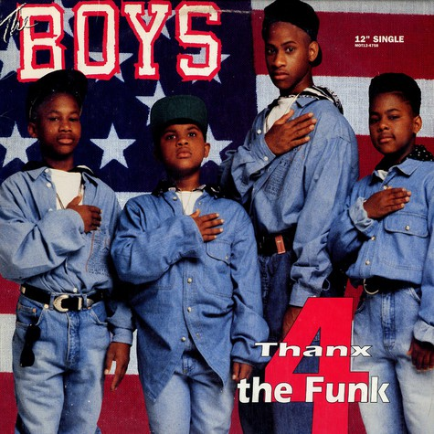 Boys, The - Thanx 4 The Funk