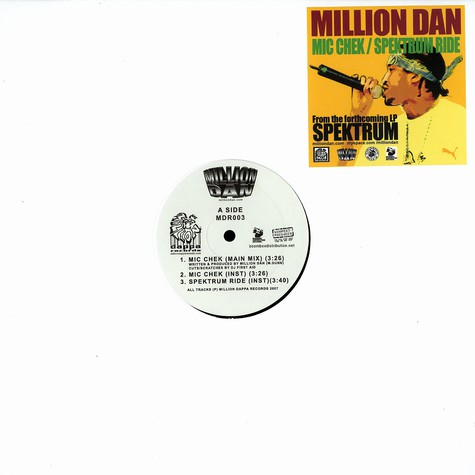 Million Dan - Mic chek