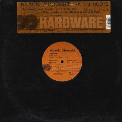 Black Thought - Hardware