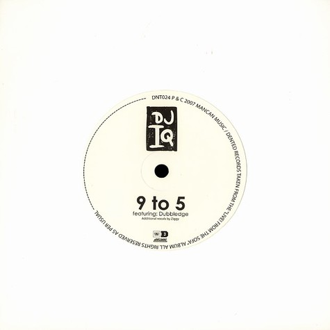 DJ IQ - 9 to 5 feat. Dubbledge