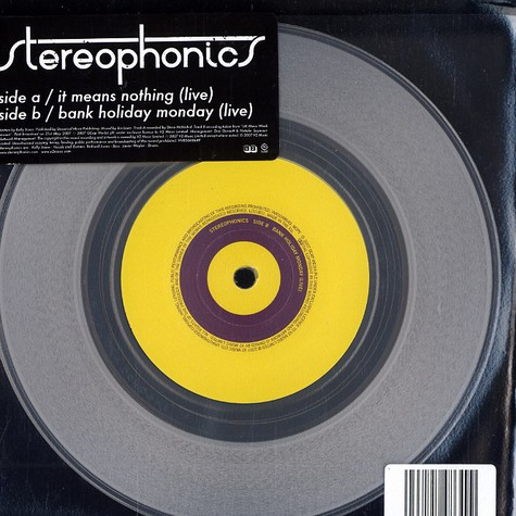 Stereophonics - It means nothing part 2 of 2