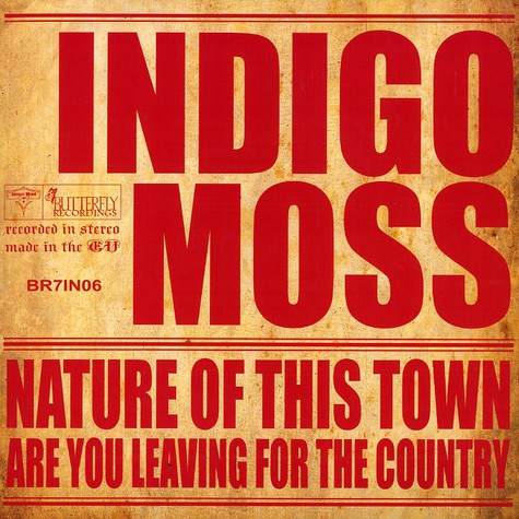 Indigo Moss - Nature of this town