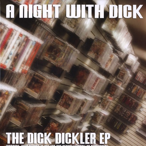 A Night With Dick (Kerri Chandler) - The dick dickler EP