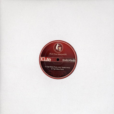 Klute - Fuck your minimal EP