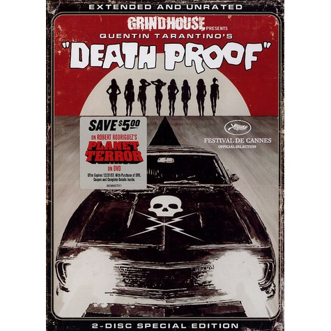 Quentin Tarantino - Death proof - the movie extended & unrated