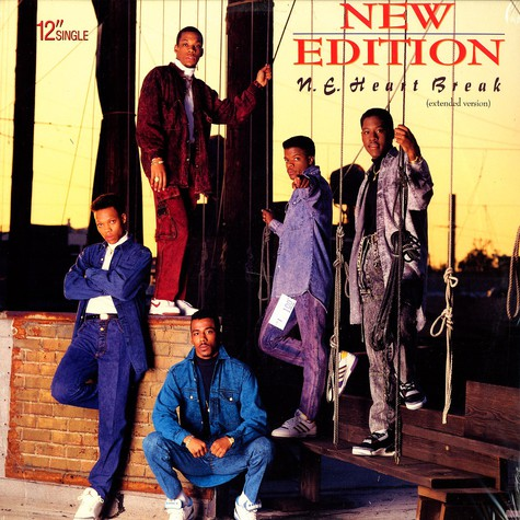 New Edition - N.E. heart beat