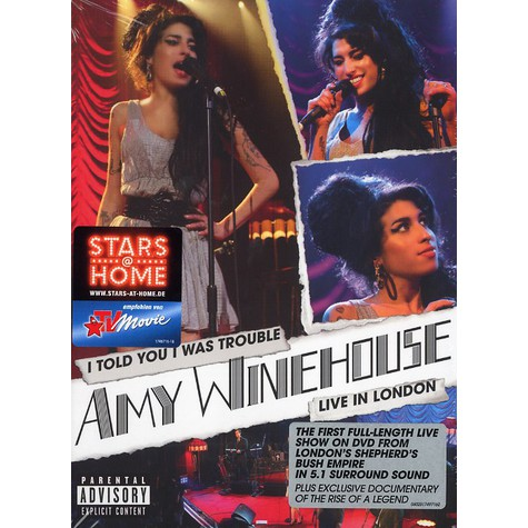 Amy Winehouse - Live in London