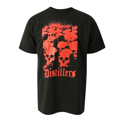 Distrillers - Red skull T-Shirt