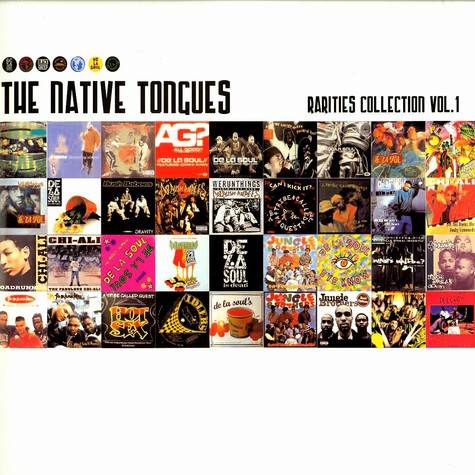 Native Tongues, The - Rarities collection volume 1