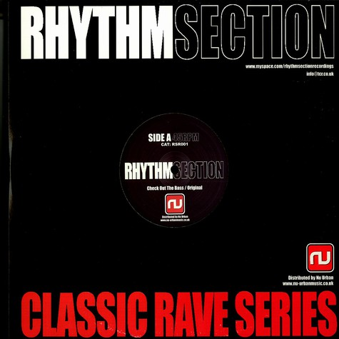 Rhythm Section - Check out the bass