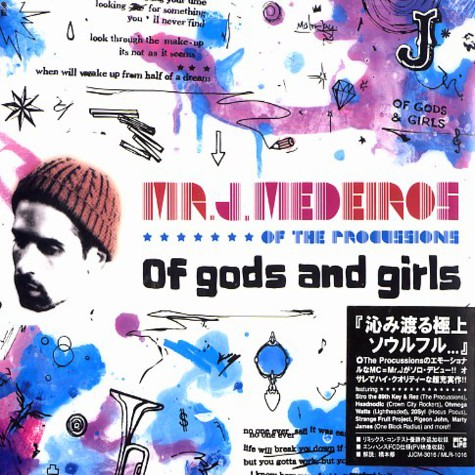 Mr.J.Medeiros of The Procussions - Of gods and girls