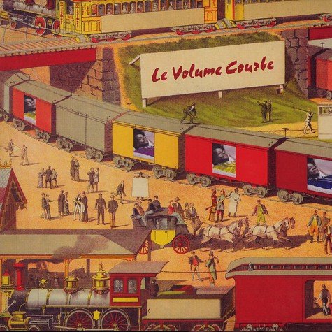 Le Volume Courbe - Freight train