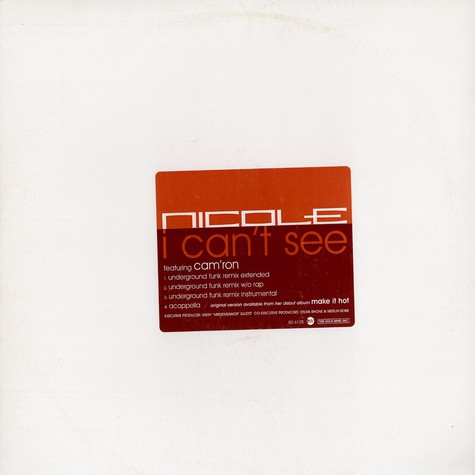 Nicole - I can't see feat. Camron
