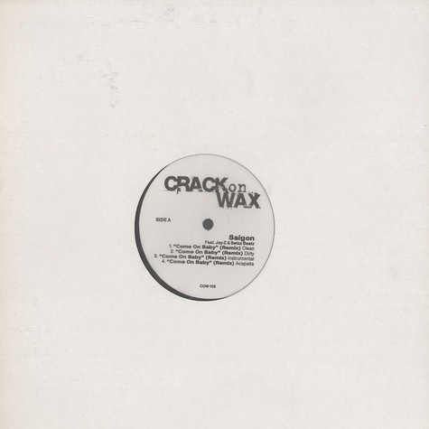 Crack On Wax - Volume 106