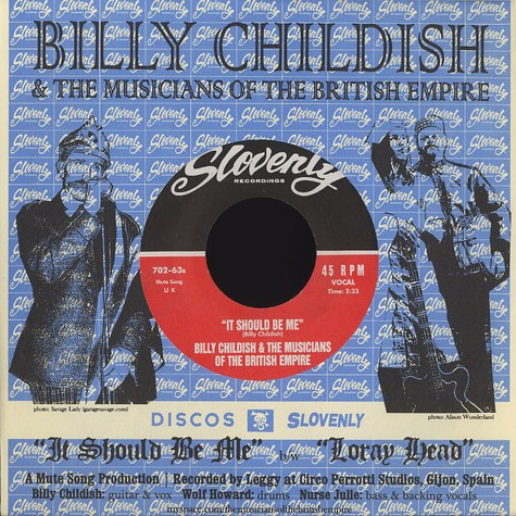 Wild Billy Childish & The Musicians Of The British Empire - It should be me