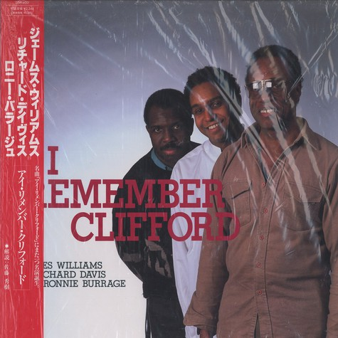 James Williams, Richard Davis & Ronnie Burrage - I remember Clifford