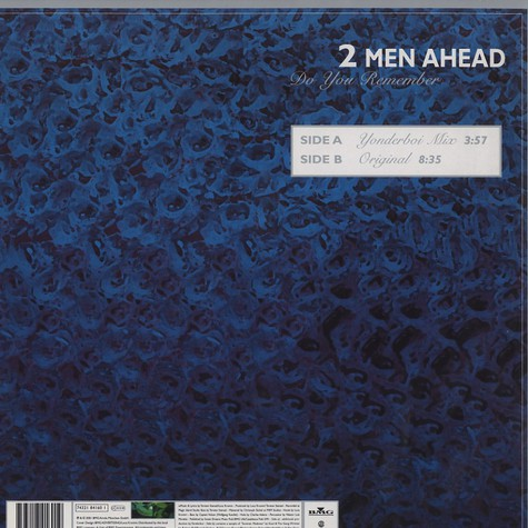 2 Men Ahead - Do you remember