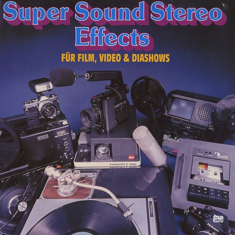 Super Sound Stereo Effects - Für film, video und diashow