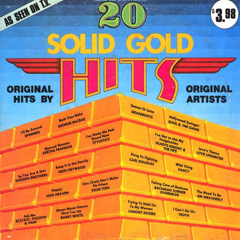 V.A. - 20 Solid gold hits