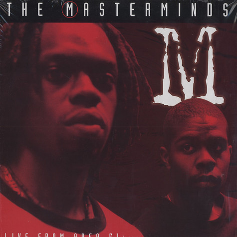 Masterminds - Live from area 51