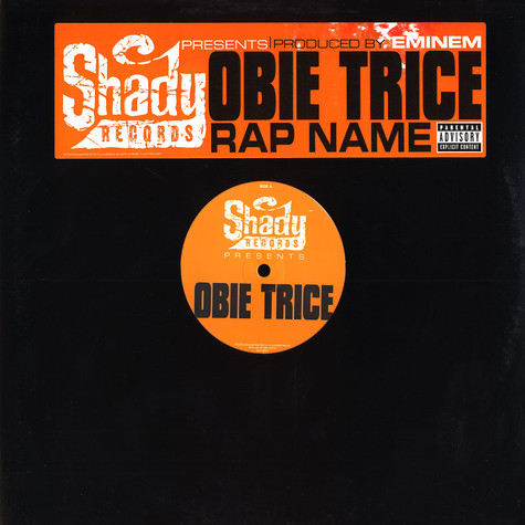 Obie Trice - Rap name