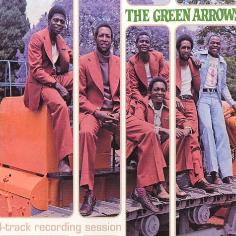 Green Arrows, The - 4-track recording session
